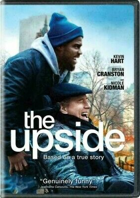 THE UPSIDE DVD Movie Brand New & Sealed USA FREE SHIPPING Slipcover
