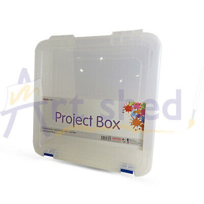 Craft Storage Box - Stackable Project 35.5 x 36.5 x 8.5cm