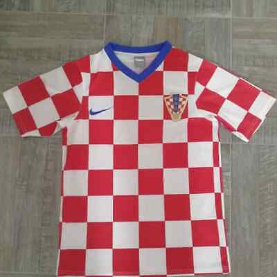 cae66ea3ac6 Nike Dri-Fit Croatia Original Soccer Football Jersey 2014 World Cup Home  SMALL.