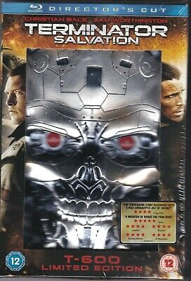 Terminator Salvation - T600 Limited Edition (Blu-ray, New & Sealed)