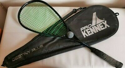Pro Kennex Destiny Plus Squash Racket And Cover Case Racquet Free Post Same Day