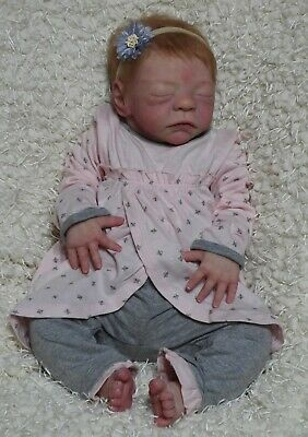 Full Body Silicone Baby Girl Paisley by Joanna Gnomes
