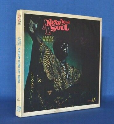 Scary Rare LARRY WILLIS NEW KIND OF SOUL 3 3/4 ips FUNK JAZZ REEL TO REEL TESTED