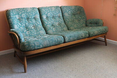 Ercol Jubilee 3 Seater Sofa Vintage, Mid-Century, Retro, Original Condition