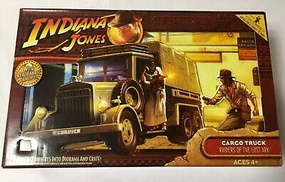 CARGO TRUCK Indiana Jones RAIDERS OF THE LOST ARK Unopened REAL FABRIC CANOPY
