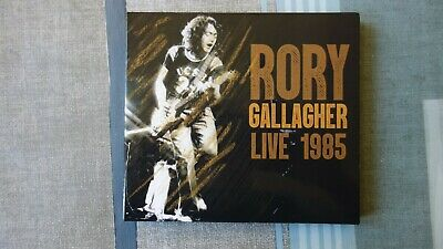 RORY GALLAGHER - BUDAPEST LIVE 1985 - 2CD - still factory sealed