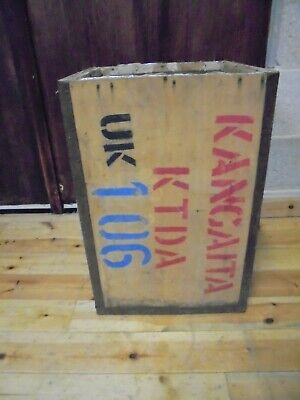 Vintage Packing Crate Box