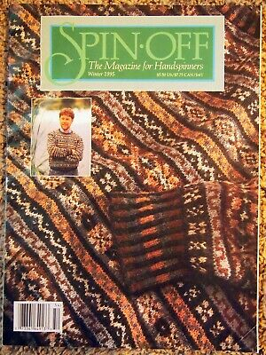 Spin-Off Magazine WINTER 1995: Unusual Blends, Spinning with Kids, About Wool