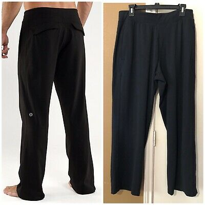 7138167257 ... Gym Yoga Sweatpants Lounge Athletic Black L Reg.