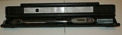"Armstrong 1/2"" Drive Electronic Torque Wrench 25-250 Ft. LB. 64-544  w/ Case USA"