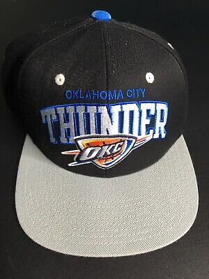 buy popular 1e905 22484 New NBA Oklahoma City Thunder Mitchell   Ness Snapback Hat Cap