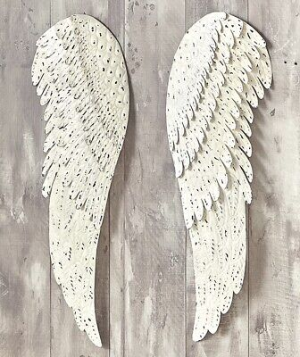 Angel Wings Blessed Country Rustic Home Decor 2-Pc