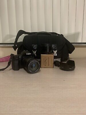 Canon EOS 60D 18.0MP DSLR Camera 18-135mm lens And 50mm 1.8f Lens Canon Bag