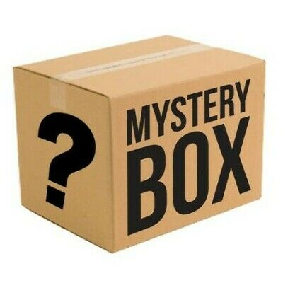 Mystery box/Beauty, surprise, tech, gadgets, DVDs, books, games