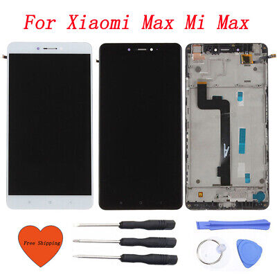 For Xiaomi Max Mi Max LCD Display Touch Screen Digitizer Assembly+ Frame + Tools
