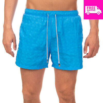 f95141421b RRP€125 MAKE YOUR ODYSSEY Swim Shorts Size M Patterned Split Cuffs Made in  Italy