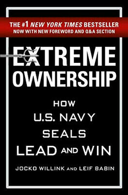 Extreme Ownership by Jocko Willink & Leif Babin Paperback Book