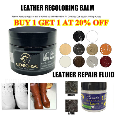 EIDECHSE Leather Recolouring Balm/Leather&Vinyl Repair Paste Filler Cream Putty
