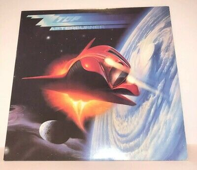 Zz Top Afterburner Vinyl Record Album Great Condition Billy Gibbons Vintage