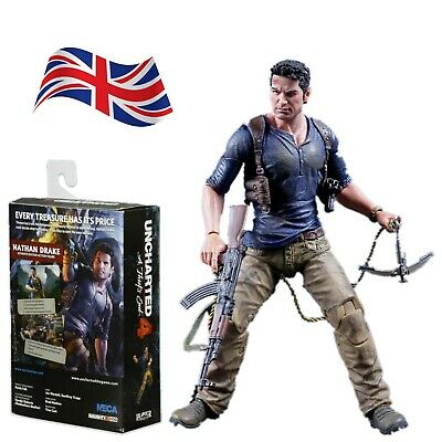 "Uncharted 4 1:12 Scale 7/"" Action Figure Ultimate Nathan Drake Action Figure NECA"