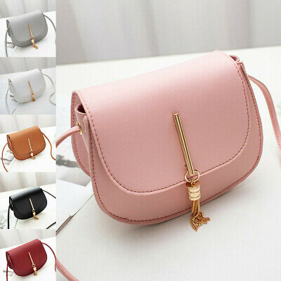 US New Women Fashion PU Leather Small Shoulder Bag Ladies Crossbody Bag Handbag