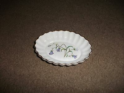 Spode China Trinket Dish-In Exc. Cond.-Appears Unused-Campanula Design-Lovely