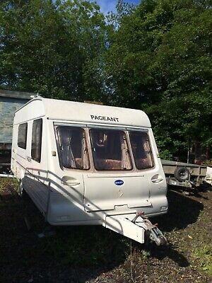 Bailey Pageant Moselle 4 berth caravan 2001
