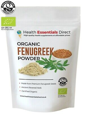 Organic Fenugreek Powder (Superior Grade Ground Methi Seeds) Choose Size: