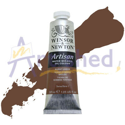 Winsor & Newton Artisan Water Mixable Oil Colour 37ml S1 - Burnt Umber