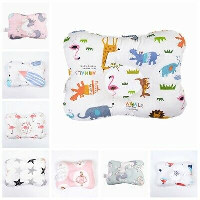 Baby Infant Pillow Newborn Anti Flat Head Styling Neck Support Breathable #he6
