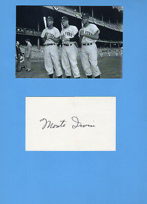 Monte Irvin (National Baseball Hall of Fame 1973) Signed Card With Photograph