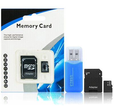 1TB 1024GB Universal Micro SD TF Flash Memory Cards Class 10 Speed with Adapter