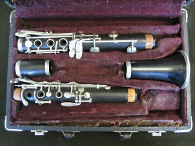 REPAIRMAN'S SPECIAL Pedler (Elkhart, Indiana) Bb Clarinet for PARTS ONLY