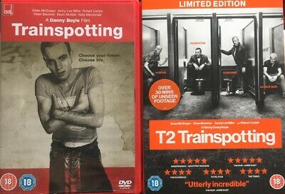 Trainspotting 1 And T2 Trainspotting (2017) DVD Limited Edition
