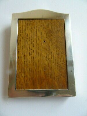 Solid Silver Photograph Frame London c.1927