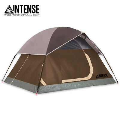 Intense Two Person Dome Tent 7'X5' Outdoor Camping Waterproof Family Tent New