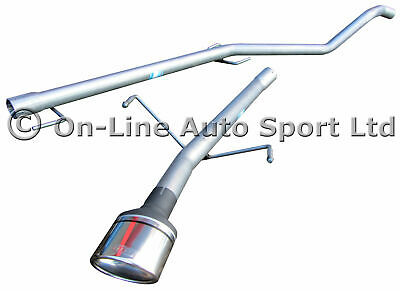 Astra Mk5 1.9 CDTi Hatch Silencer Delete Exhaust System ULTER OVAL TIP