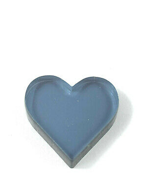 Opaque Black Heart Acrylic Various Sizes small Arts & Crafts K&M