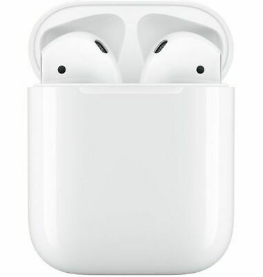 Apple AirPods: (2nd Gen) Truly Wireless In-Ear Headphones - with wired chargi...