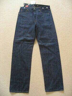 2c0df271 Levi's Vintage Clothing LVC 1915 501 XX Selvedge Denim Jeans W 34 L 34 NWT  Bag