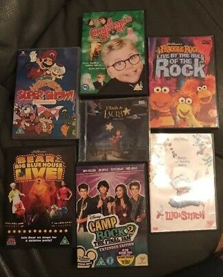 Childrens DVD Collection (6 DVDs) with Bonus CD