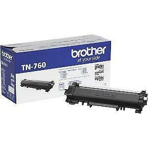 Brother TN-760 Original Toner Cartridge - Black