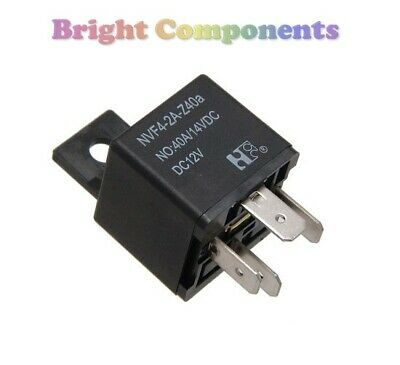 4 Pin 12V 30A Relay With Prewired Base For Protection Starter On//Off Switch