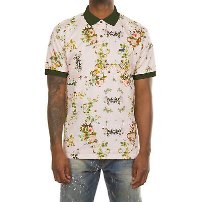 Akoo Jungle Short Sleeve Polo in 3 Color Choices 791-4304