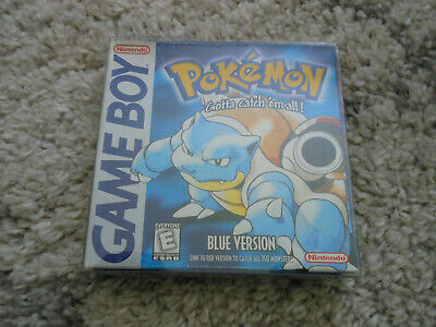 Pokemon Blue * Nintendo Gameboy Advance Sp Ds Game . 100% Genuine
