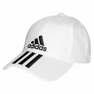 Adidas Child Youth Boys Cap 6P Panel Cotton 3 Stripes Baseball Golf Kids Hat