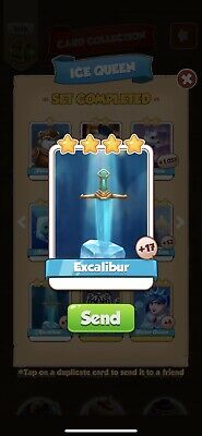 Coin Master Cards Martian Lettuce And Excalibur Pack  (fastest Delivery)