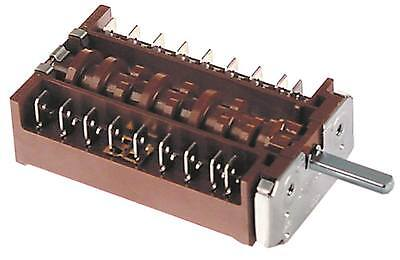 Ego 42.04000.021 Cam Switch 8-pin Axle Ø 6x4, 6x23mm 3 Positions