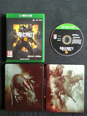 Call Of Duty Black Ops IIII 4 Steelbook Edition Xbox One Inc Fast Free Post