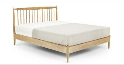 Made.com Willow Double Bed, Oak RRP £499